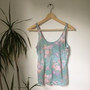 Urban Outfitters BDG Floral Tank